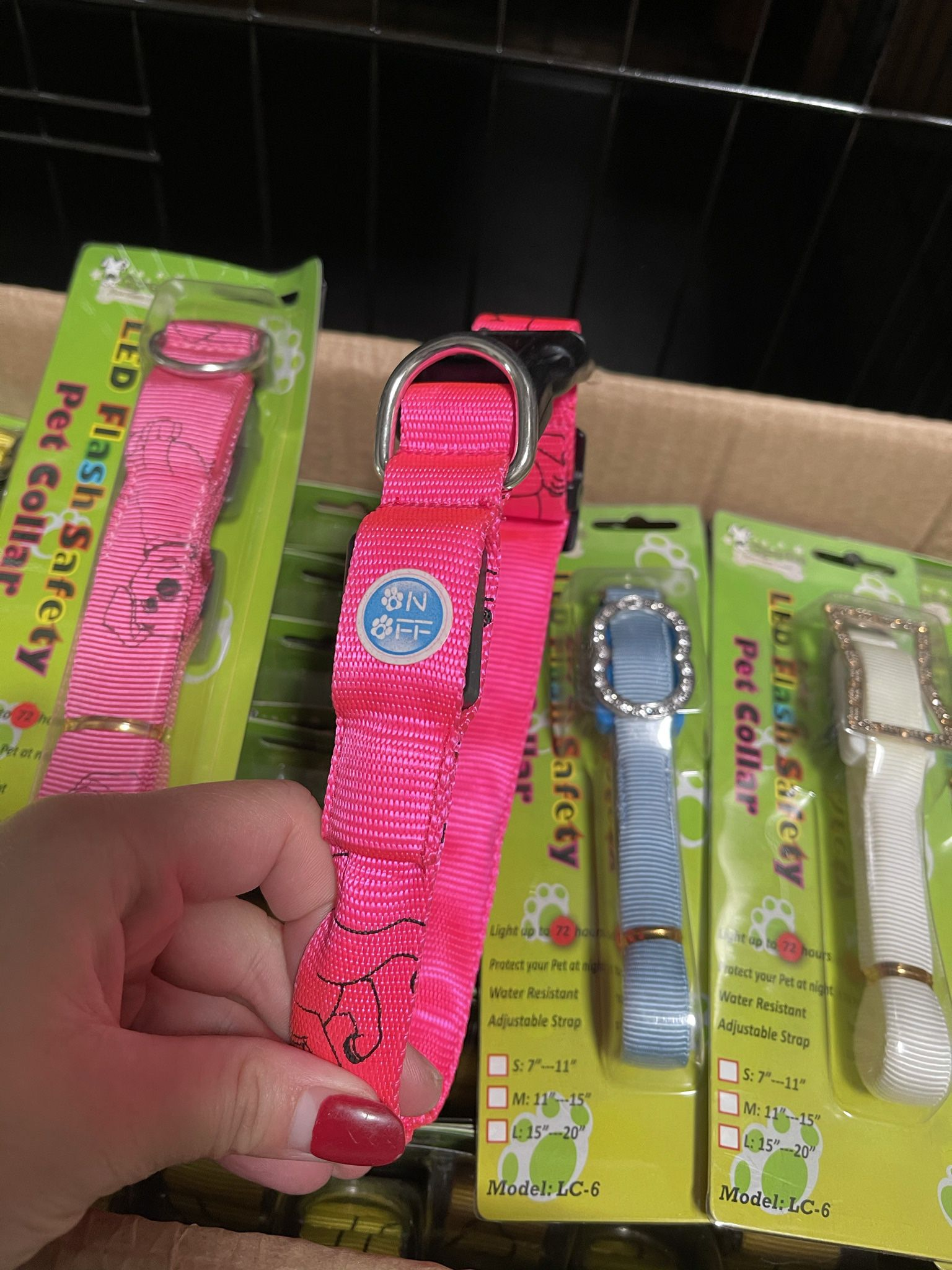 $5 For 2 Pack Dog Collar Small/medium /large Size
