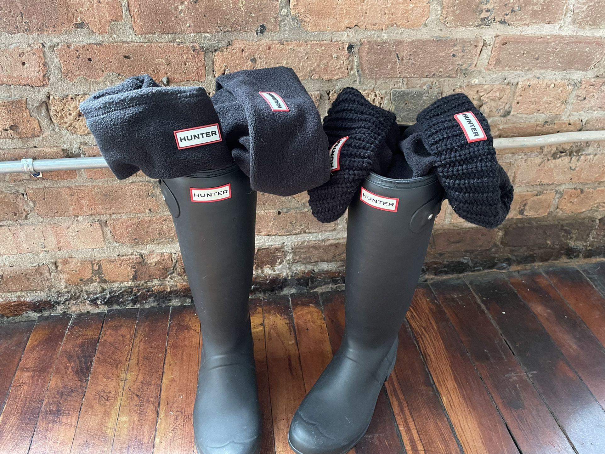 Hunter Boots - US9