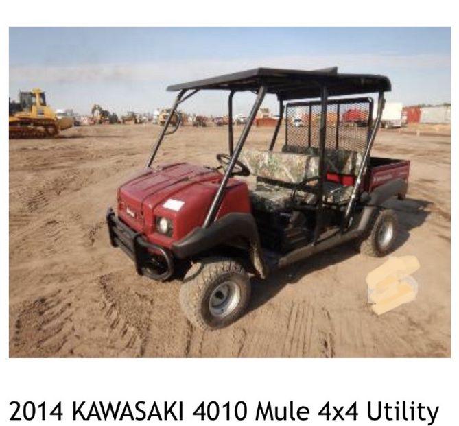 2014 Kawasaki Mule
