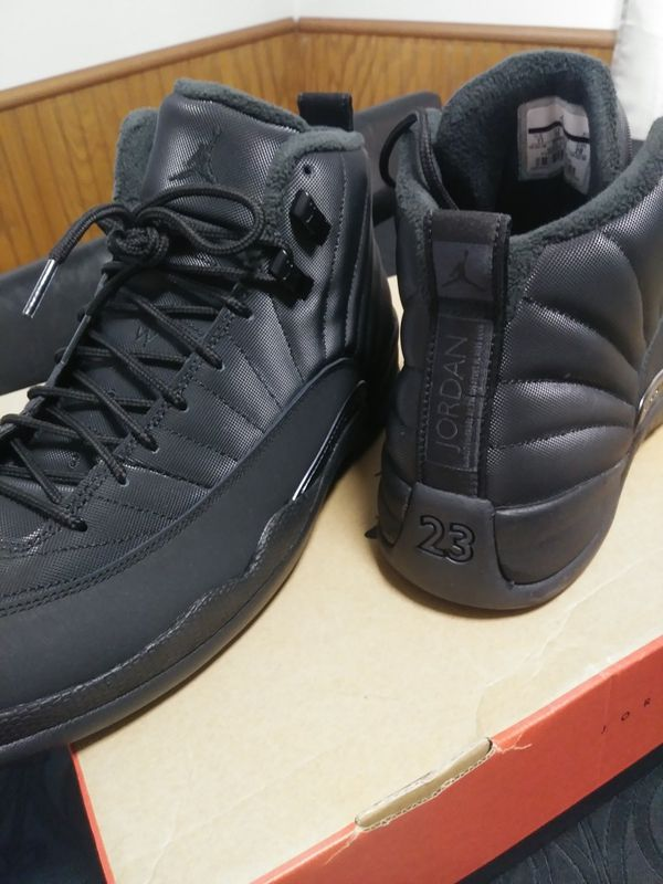 0bb16d561abfff Sz 11)Jordan retro 12 winter black. Release date is Dec 15 for Sale ...