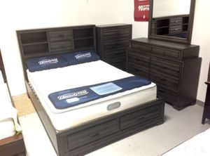Brand new queen size storage bed for Sale in Chantilly, VA