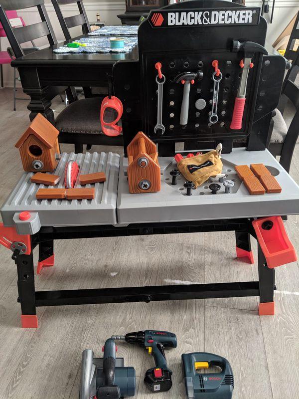 Surprising Black Decker Kids Workbench For Sale In Virginia Beach Va Ibusinesslaw Wood Chair Design Ideas Ibusinesslaworg