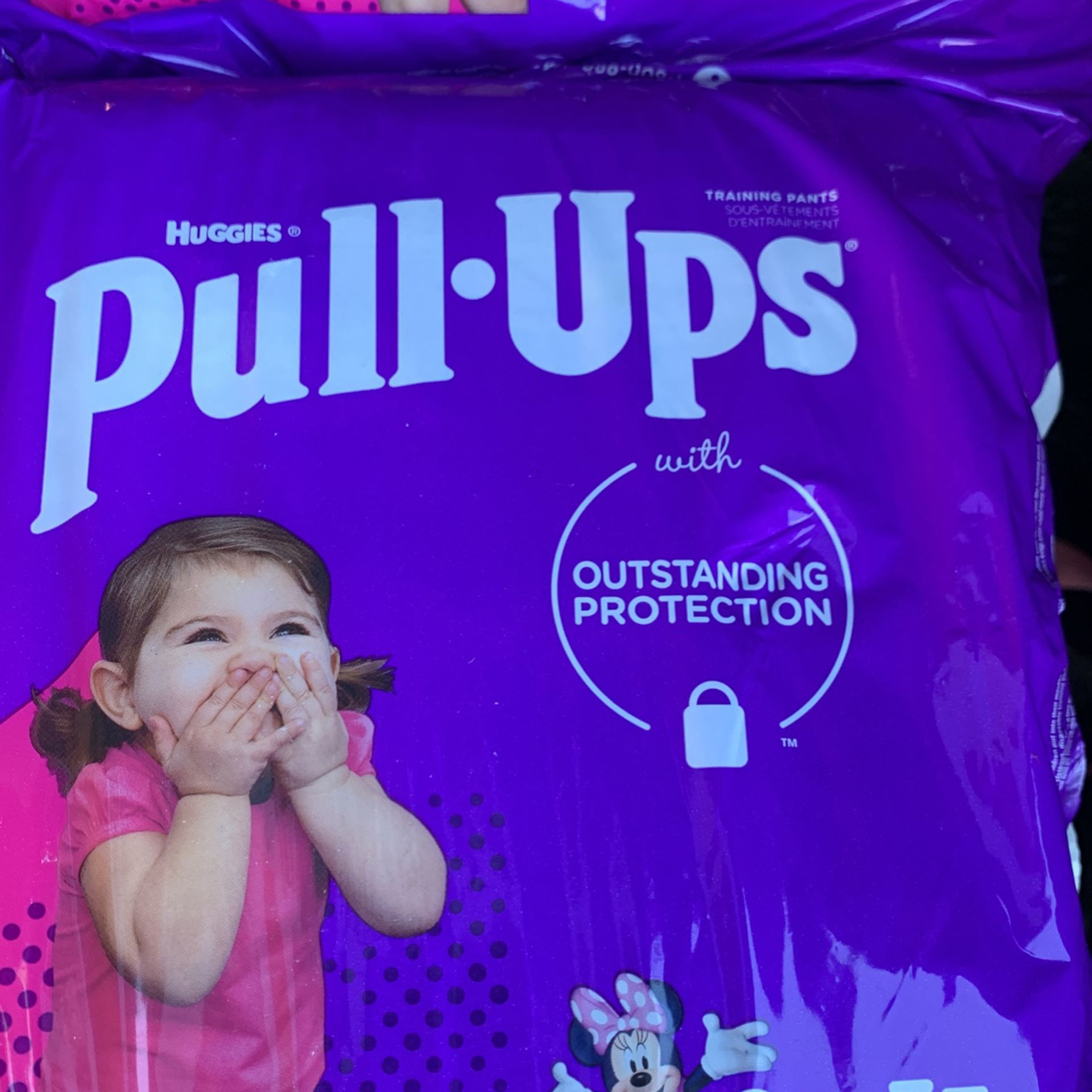 Pampers Pull Up 2-3T 23 Count 4 Bags