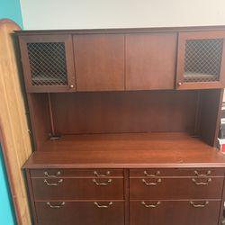 Antique Wood Cabinet Thumbnail