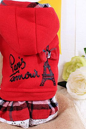 Paris Kisses Dog Hoodie Dresses for Sale in Baltimore, MD