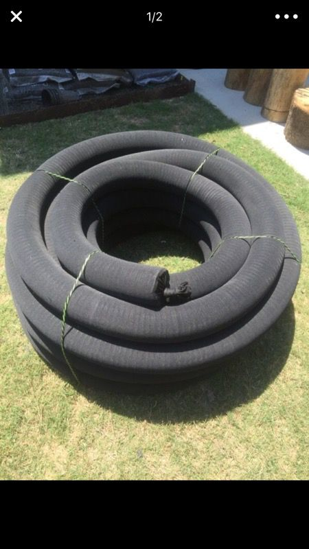4 in x 100 ft corex drain pipe perforated with sock for sale in