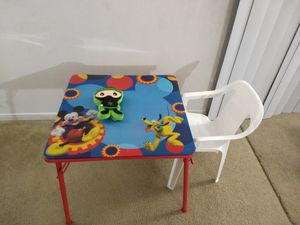 Kids table chair for Sale in Chesterfield, MO