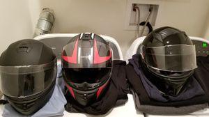 Motorcycle helmets for Sale in Fort Belvoir, VA