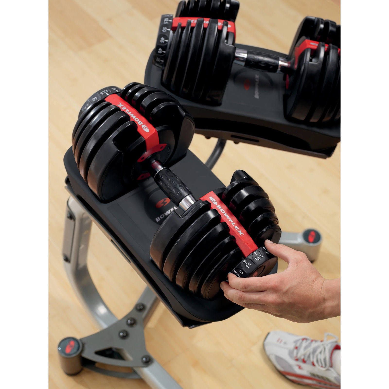 New Bowflex Weights 552 pair complete set Sealed Local Trusted