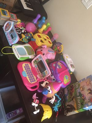 kids games toys bundle for Sale in Richmond, TX