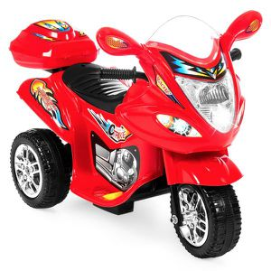 NEW Kids 6V Ride On Motorcycle w/ 3 Wheels - Red for Sale in Columbus, OH