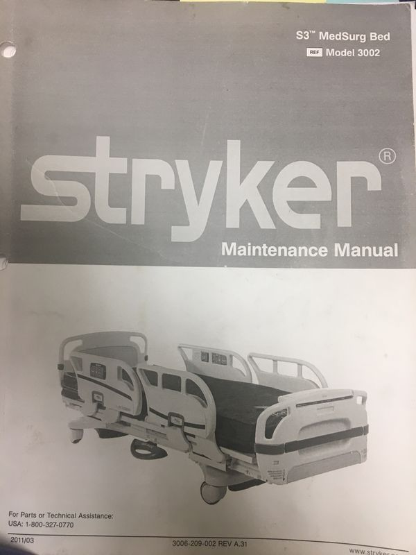 Stryker S3 Secure MedSurg Model Medical Equipment For Sale In Henderson NV OfferUp