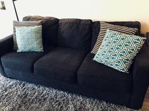 Gray Sofa & 4 Pillows - $200 for Sale in Los Angeles, CA