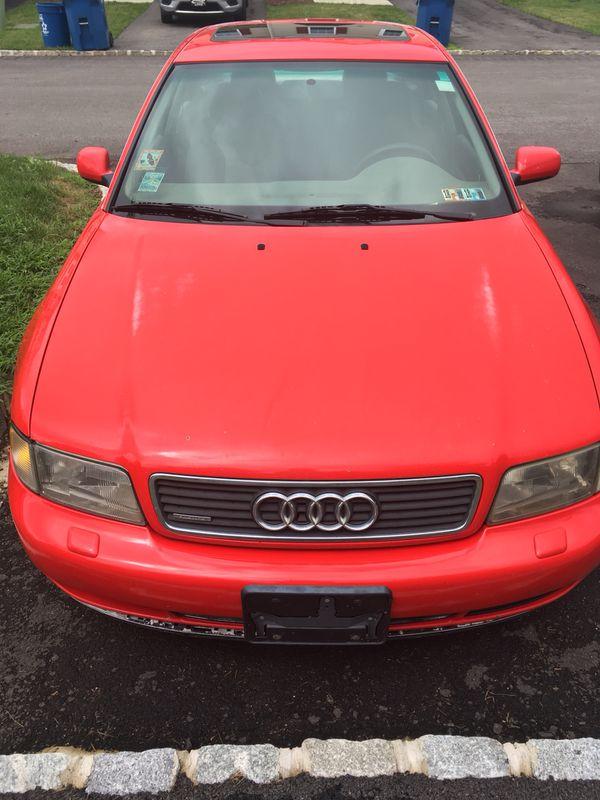 1998 Audi A4 Quattro, manual transmission, V6 engine ...