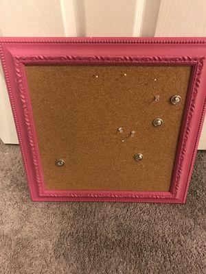 FREE framed cork board for Sale in Washington, DC