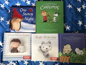 Beautiful Hallmark Books Kids Christmas winter Limited Edition for Sale in Alexandria, VA