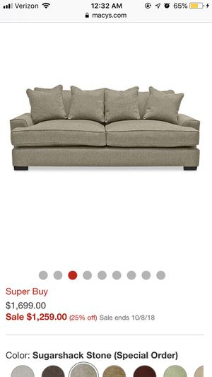 Surprising Ainsley 101 Fabric Queen Sleeper Sofa Created For Macys Ncnpc Chair Design For Home Ncnpcorg