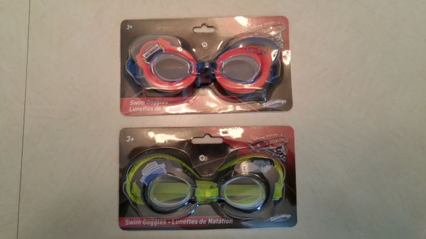 12a962a5cb6 2 pair of Disney Cars 3 Child kids Swim Goggles NEW for Sale in ...