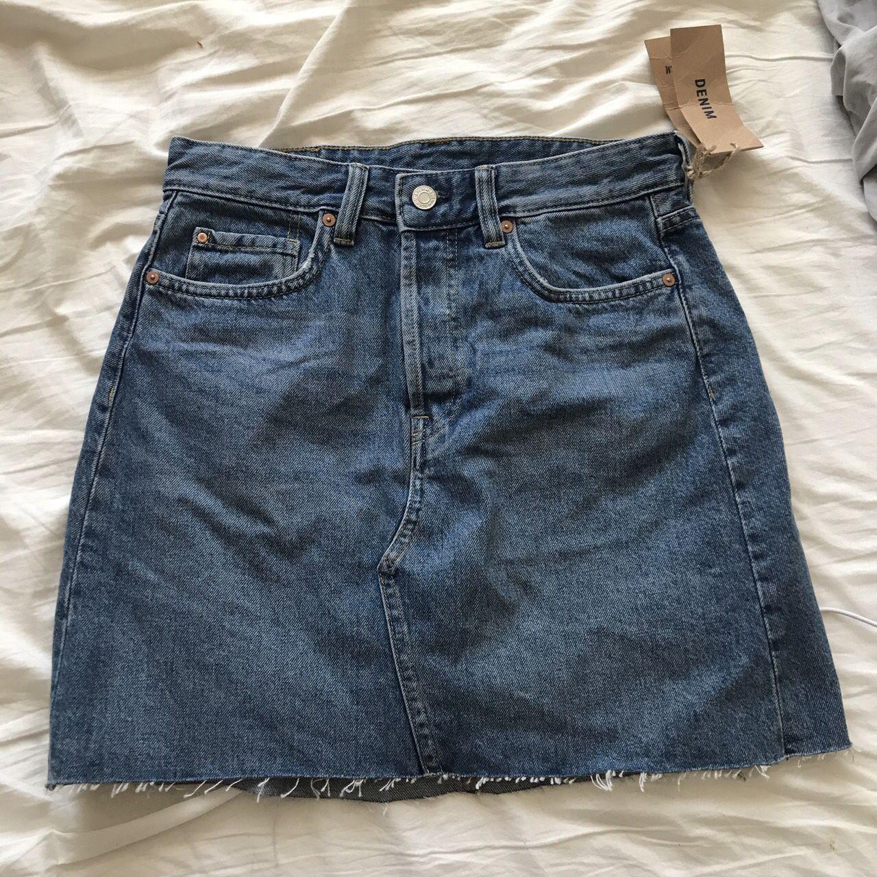 H&M jean skirt