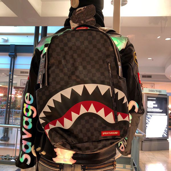 a6c1fc7b5bd3 SHARKS IN PARIS backpack sprayground for Sale in Indianapolis