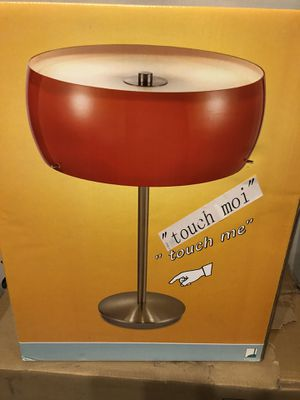 Two Modern Glass Shade Lamps-Buy one get one free! for Sale in Union City, GA