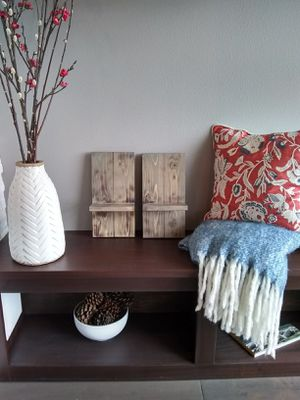 Rustic Handmade Wooden Candle holders for Sale in Bellingham, WA