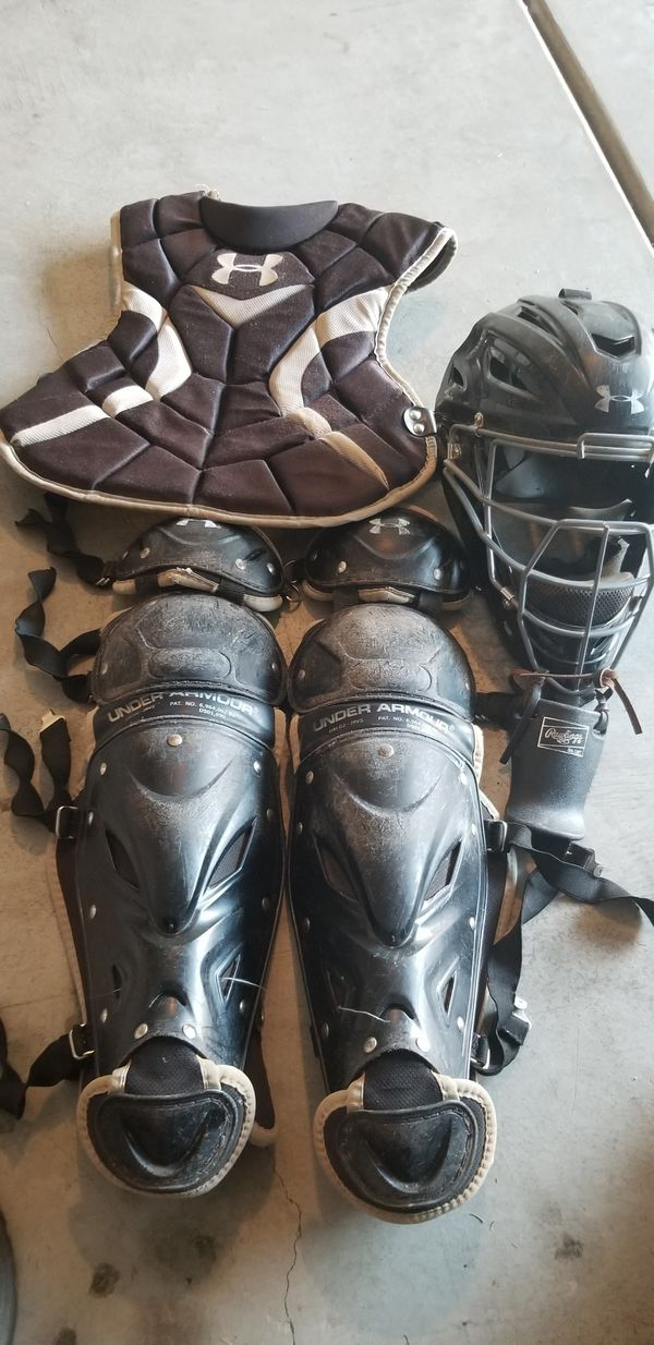 Youth Under Armour Catchers Gear For Sale In Riverside Ca Offerup