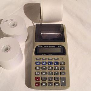 Casio Printing Calculator for Sale in Centreville, VA