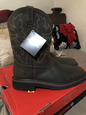 Photo Wolverine Men's Rancher 10 Square Toe Soft Toe Work Boot