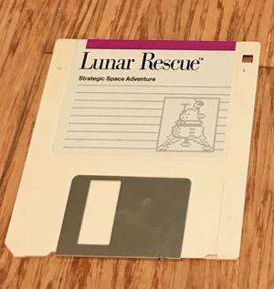 Lunar Rescue: Strategic Space Adventure (MAC) Game for Sale in Fairfax, VA