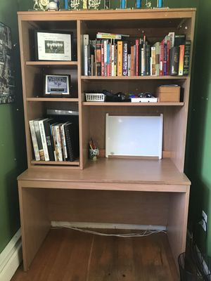 Desk with hutch for Sale in Alexandria, VA