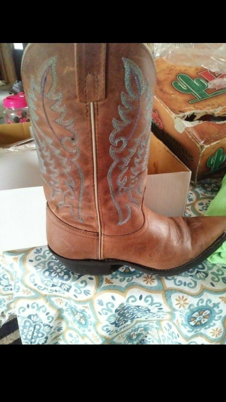 Loredo real leather boots