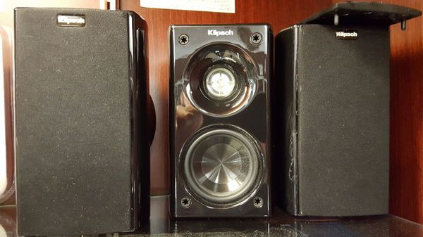 Klipsch surround sound speakers  Please read reviews and online pricing   for Sale in Charlestown, IN - OfferUp