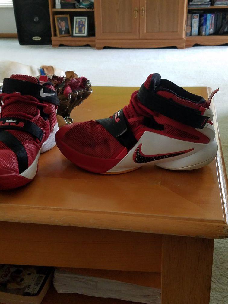 Lebron's Soldier Shoes