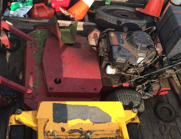 "ExMark TriVantage 36"" commercial Zero- turn walk behind mower with Sulky-  needs some work for Sale in Lexington, KY - OfferUp"