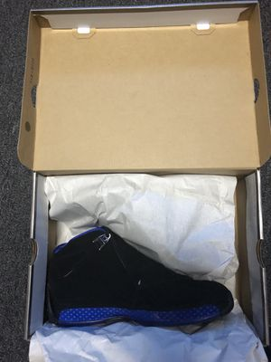 Brand New Jordan 18's Black/Royal Blue!!! Never Worn!!! Size 11 for Sale in Charlotte, NC