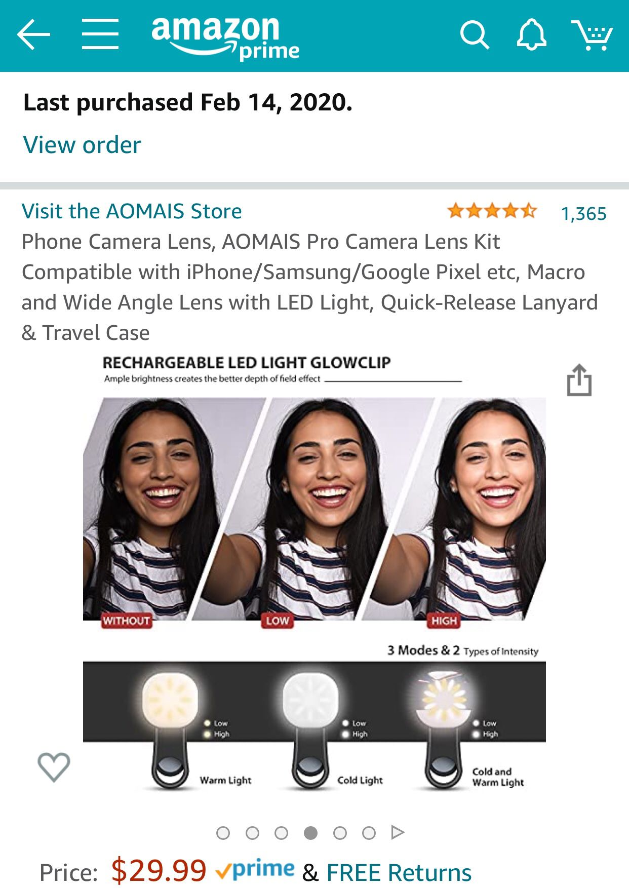 Wide Angle & Macro Lens for iPhone & Android