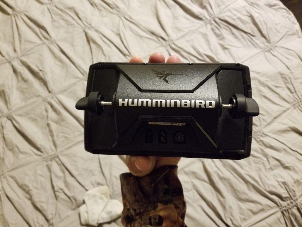 Hummingbird helix5 sonar gps depthfinder