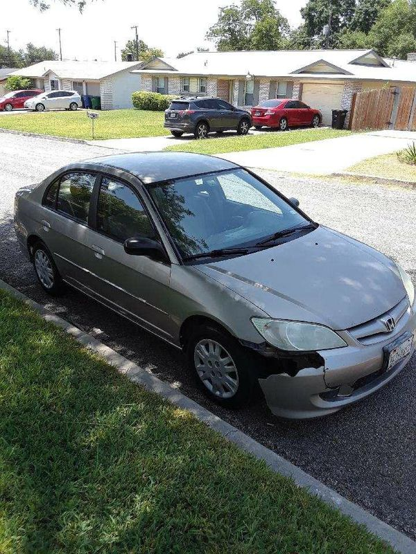 2005 honda civic lx runs great cars trucks in san antonio tx offerup. Black Bedroom Furniture Sets. Home Design Ideas