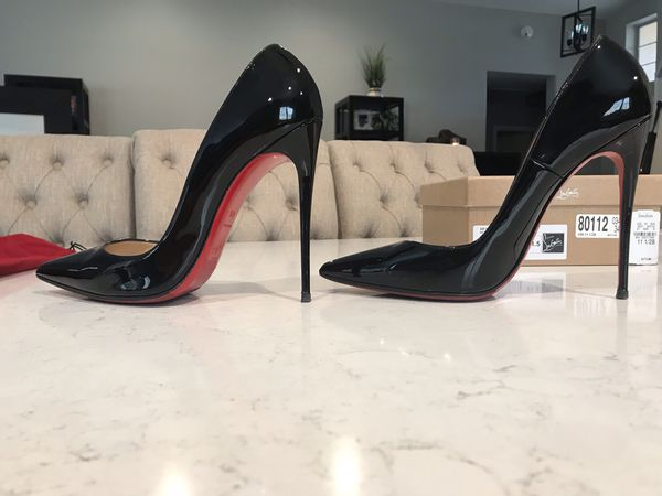 f71839050ab Christian Louboutin So Kate 120mm Patent Shoes Size 41. for Sale in  Chandler, AZ - OfferUp