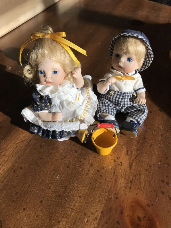 Marie Osmond Petite Amour Toddler Collection Jack Jill Do Not Have Box Or Coat Paper Collectibles In Rockford IL