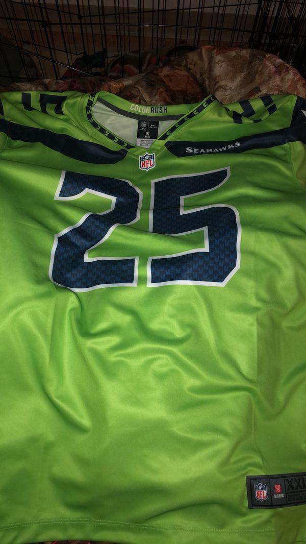 uk availability a2ebd e0f89 Seattle Seahawks color rush Jersey