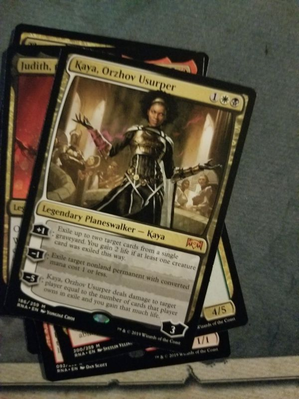 Mtg Kaya Orzhov Usurper For Sale In Tampa Fl Offerup She has lower than average health, average mana gains with a balanced spread, and average deck limits. offerup