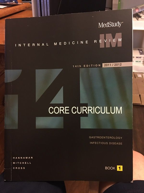 MedStudy Internal Medicine Board Review, 14th Edition for Sale in Tomball,  TX - OfferUp