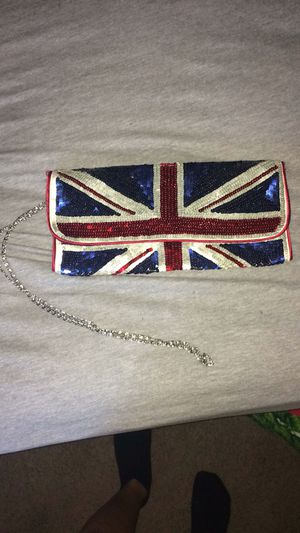 United kingdom flag clutch for Sale in Garner, NC