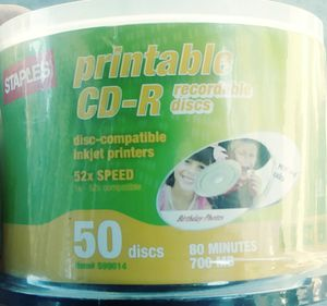 Printable CD-R for Sale in San Diego, CA