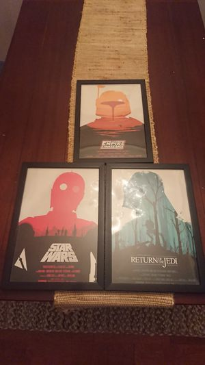 Star wars collectible art frame for Sale in Bethesda, MD