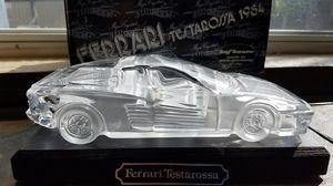 HOFBAUER CRYSTAL FERRARI TESTAROSSA 1984 for Sale in Austin, TX