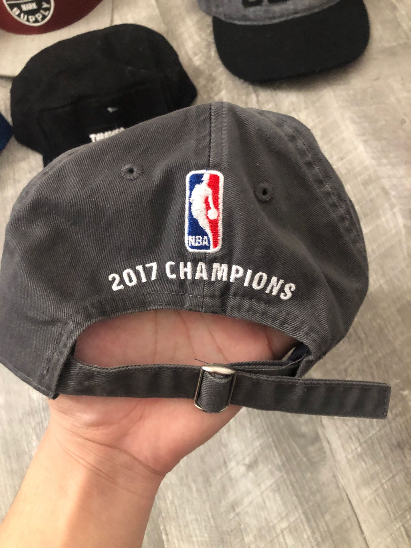 ADIDAS WARRIORS 2017 champs dad hat