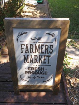 Tall Farmer market sign 3.2 feet! for Sale in Atlanta, GA